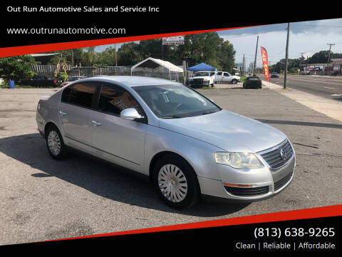 2006 Volkswagen Passat for sale at Out Run Automotive Sales and Service Inc in Tampa FL