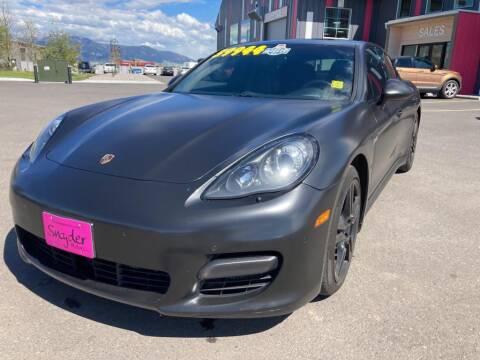 2013 Porsche Panamera for sale at Snyder Motors Inc in Bozeman MT