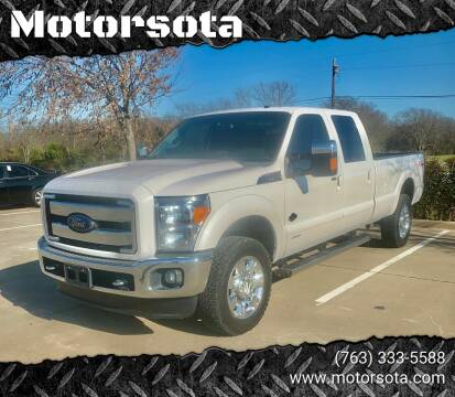 2015 Ford F-350 Super Duty for sale at Motorsota in Becker MN