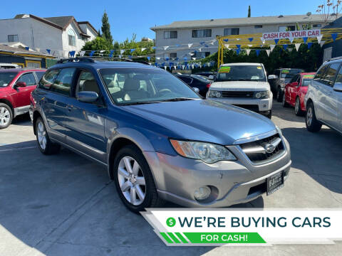 2008 Subaru Outback for sale at FJ Auto Sales North Hollywood in North Hollywood CA