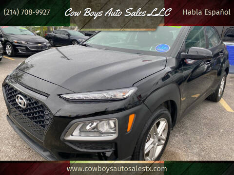 2018 Hyundai Kona for sale at Cow Boys Auto Sales LLC in Garland TX