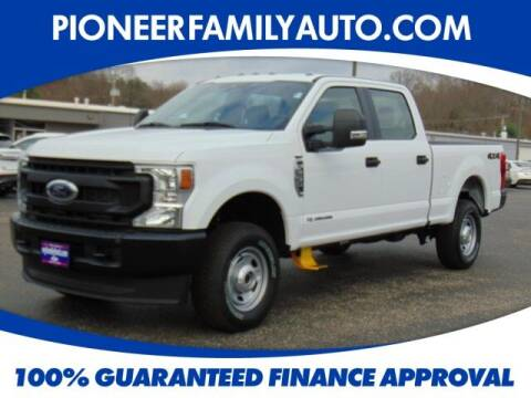 2020 Ford F-250 Super Duty for sale at Pioneer Family auto in Marietta OH