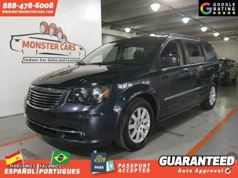 2014 Chrysler Town and Country for sale at Monster Cars in Pompano Beach FL
