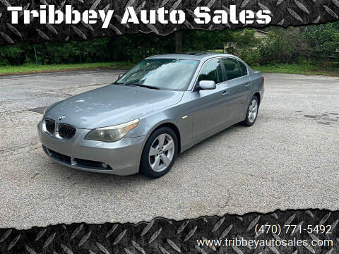 2006 BMW 5 Series for sale at Tribbey Auto Sales in Stockbridge GA