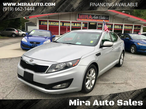 2013 Kia Optima for sale at Mira Auto Sales in Raleigh NC