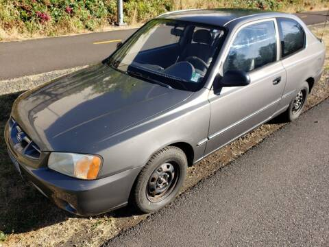 2001 Hyundai Accent for sale at KC Cars Inc. in Portland OR