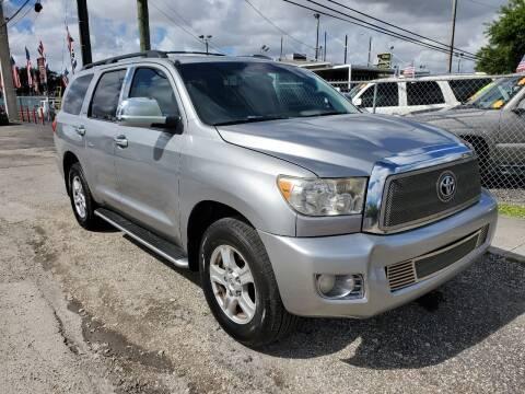 2008 Toyota Sequoia for sale at America Auto Wholesale Inc in Miami FL