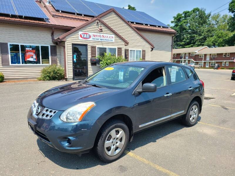 2013 Nissan Rogue for sale at V & F Auto Sales in Agawam MA