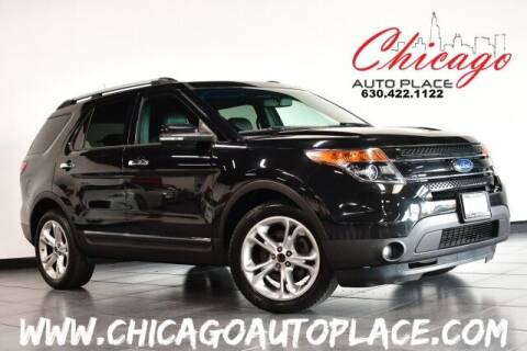 2014 Ford Explorer for sale at Chicago Auto Place in Bensenville IL