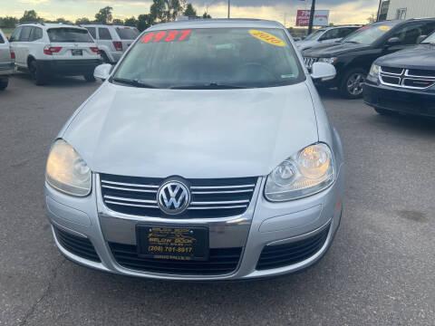 2010 Volkswagen Jetta for sale at BELOW BOOK AUTO SALES in Idaho Falls ID