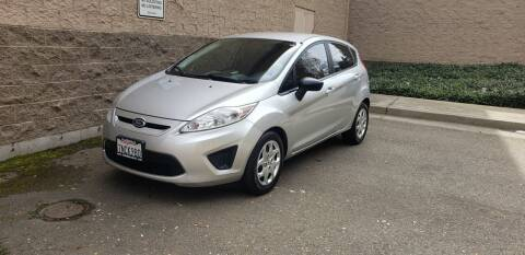 2012 Ford Fiesta for sale at SafeMaxx Auto Sales in Placerville CA