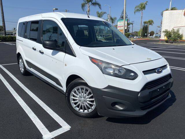 2014 Ford Transit Connect Wagon for sale at Beach Auto Group LLC in Midway City CA