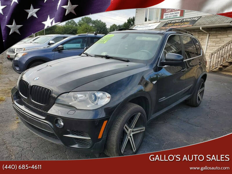 2013 BMW X5 for sale at Gallo's Auto Sales in North Bloomfield OH