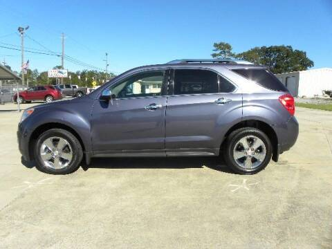 2013 Chevrolet Equinox for sale at VANN'S AUTO MART in Jesup GA