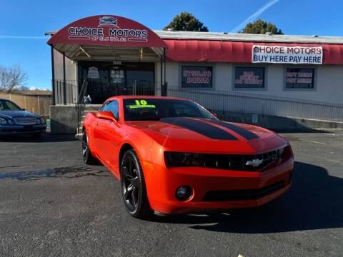 2010 Chevrolet Camaro for sale at Choice Motors of Salt Lake City in West Valley  City UT