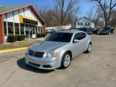 2011 Dodge Avenger for sale at Bronco Auto in Kalamazoo MI