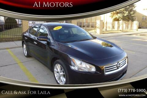 2013 Nissan Maxima for sale at A1 Motors Inc in Chicago IL