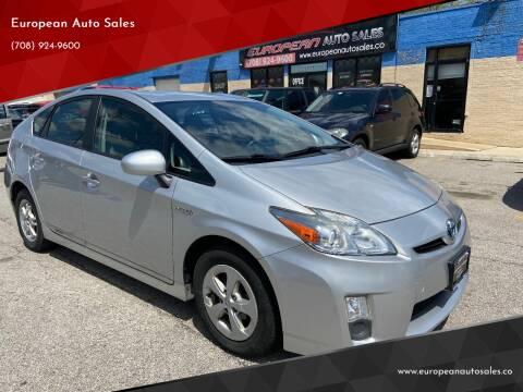 2011 Toyota Prius for sale at European Auto Sales in Bridgeview IL
