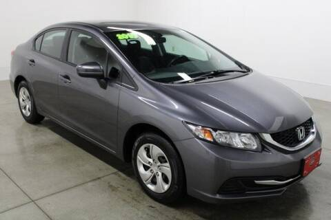 2015 Honda Civic for sale at Bob Clapper Automotive, Inc in Janesville WI