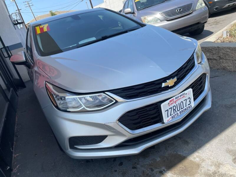 2017 Chevrolet Cruze for sale at Oxnard Auto Brokers in Oxnard CA
