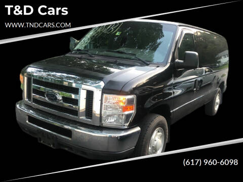 2010 Ford E-Series Cargo for sale at T&D Cars in Holbrook MA
