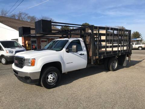 2012 GMC Sierra 3500HD for sale at J.W.P. Sales in Worcester MA