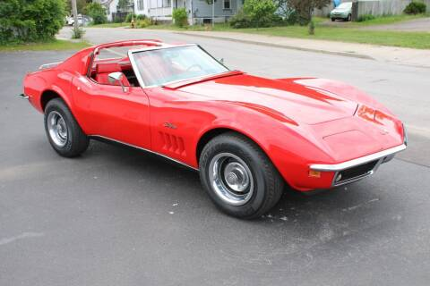 1969 Chevrolet Corvette for sale at Great Lakes Classic Cars & Detail Shop in Hilton NY