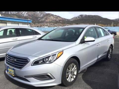 2017 Hyundai Sonata for sale at Painter's Mitsubishi in Saint George UT