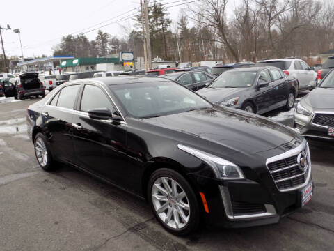2014 Cadillac CTS for sale at Comet Auto Sales in Manchester NH