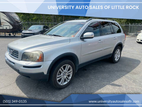 2009 Volvo XC90 for sale at University Auto Sales of Little Rock in Little Rock AR