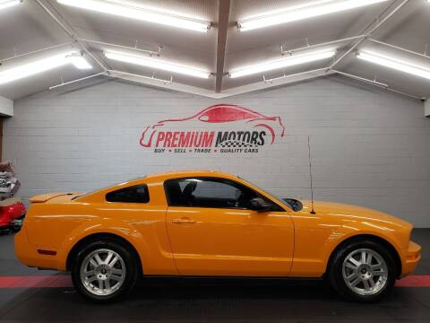 2008 Ford Mustang for sale at Premium Motors in Villa Park IL