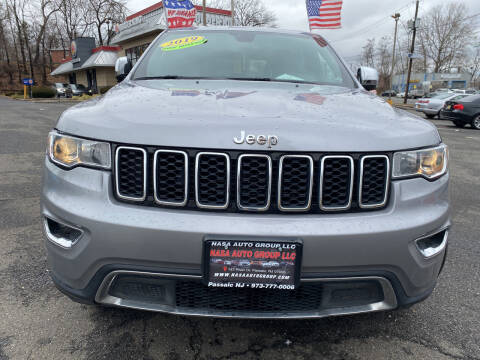 2019 Jeep Grand Cherokee for sale at Nasa Auto Group LLC in Passaic NJ