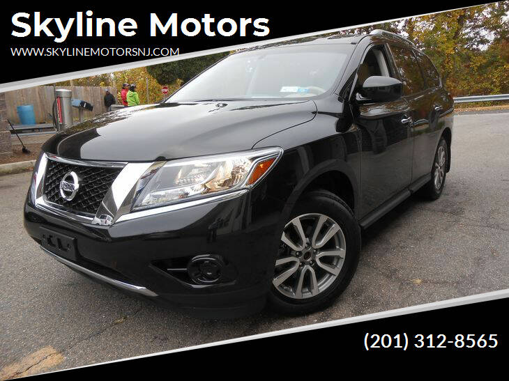 2015 Nissan Pathfinder for sale at Skyline Motors in Ringwood NJ