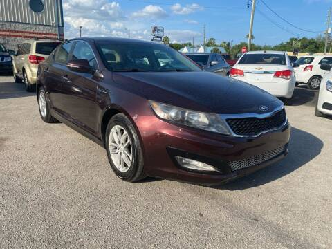 2014 Kia Optima for sale at Marvin Motors in Kissimmee FL
