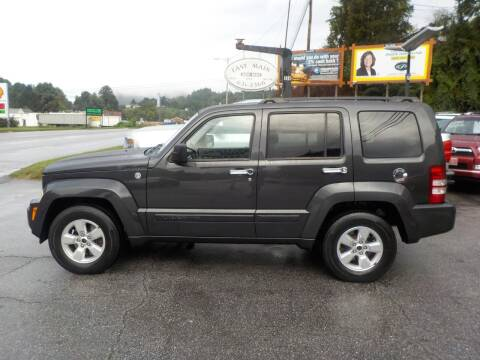 2011 Jeep Liberty for sale at EAST MAIN AUTO SALES in Sylva NC