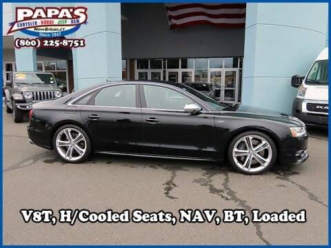 2016 Audi S8 for sale at Papas Chrysler Dodge Jeep Ram in New Britain CT