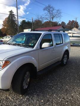 2005 Nissan Pathfinder for sale at Simon Automotive in East Palestine OH