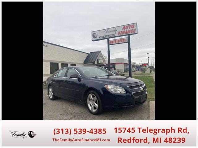 2010 Chevrolet Malibu for sale at The Family Auto Finance in Redford MI