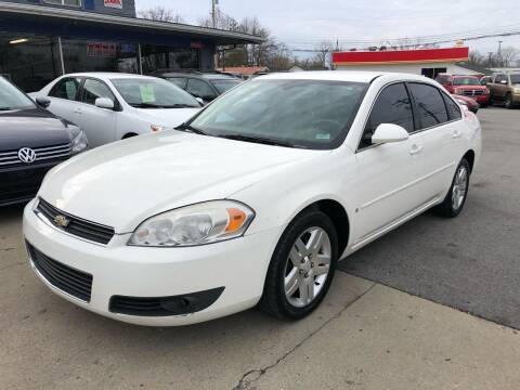 2008 Chevrolet Impala for sale at Wise Investments Auto Sales in Sellersburg IN