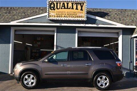 2011 GMC Acadia for sale at Quality Pre-Owned Automotive in Cuba MO