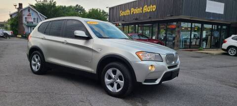 2011 BMW X3 for sale at South Point Auto Plaza, Inc. in Albany NY