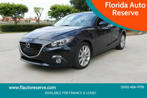 2016 Mazda MAZDA3 for sale at Florida Auto Reserve in Medley FL