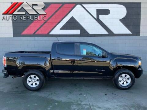 2018 GMC Canyon for sale at Auto Republic Fullerton in Fullerton CA