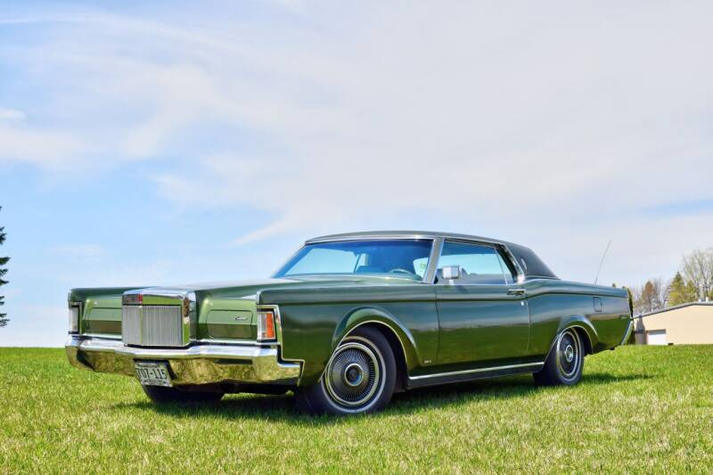 1971 Lincoln Mark III for sale at Hooked On Classics in Watertown MN