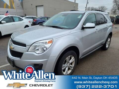 2014 Chevrolet Equinox for sale at WHITE-ALLEN CHEVROLET in Dayton OH