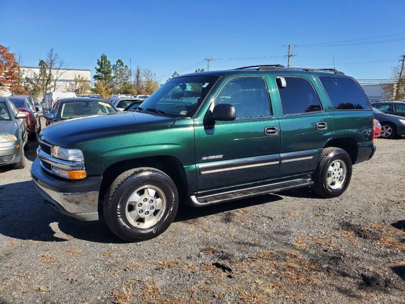 2001 Chevrolet Tahoe for sale at M & M Auto Brokers in Chantilly VA