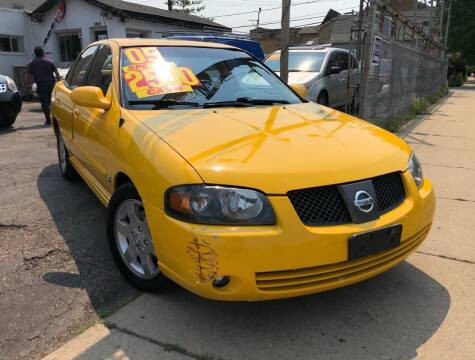 2005 Nissan Sentra for sale at Jeff Auto Sales INC in Chicago IL