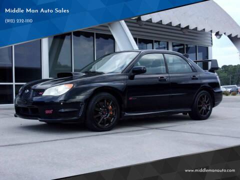 2007 Subaru Impreza for sale at Middle Man Auto Sales in Savannah GA