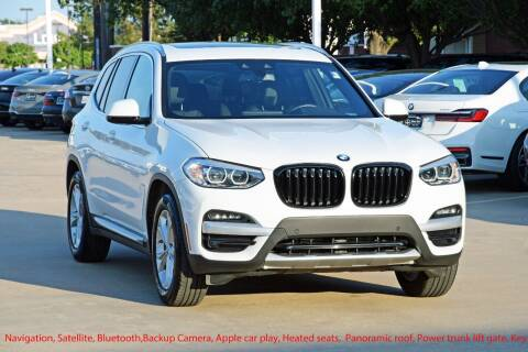 2020 BMW X3 for sale at Silver Star Motorcars in Dallas TX