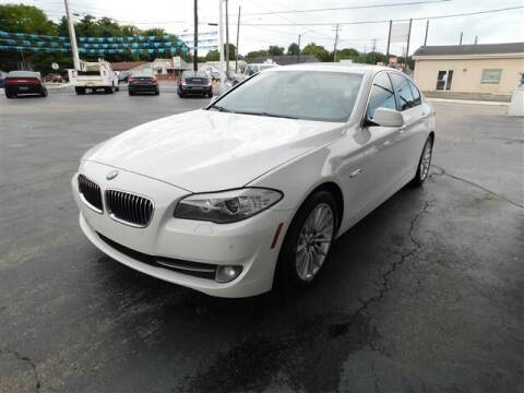 2012 BMW 5 Series for sale at D & T Auto Sales, Inc. in Henderson KY